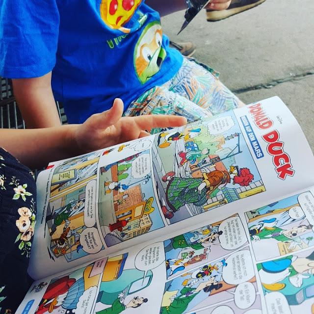 lesende Kinder, Comic lesen, Familienblog, Elternblog