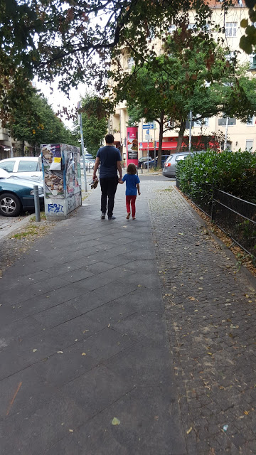 Spaziergang Samariterkiez, Mamablog, papablog