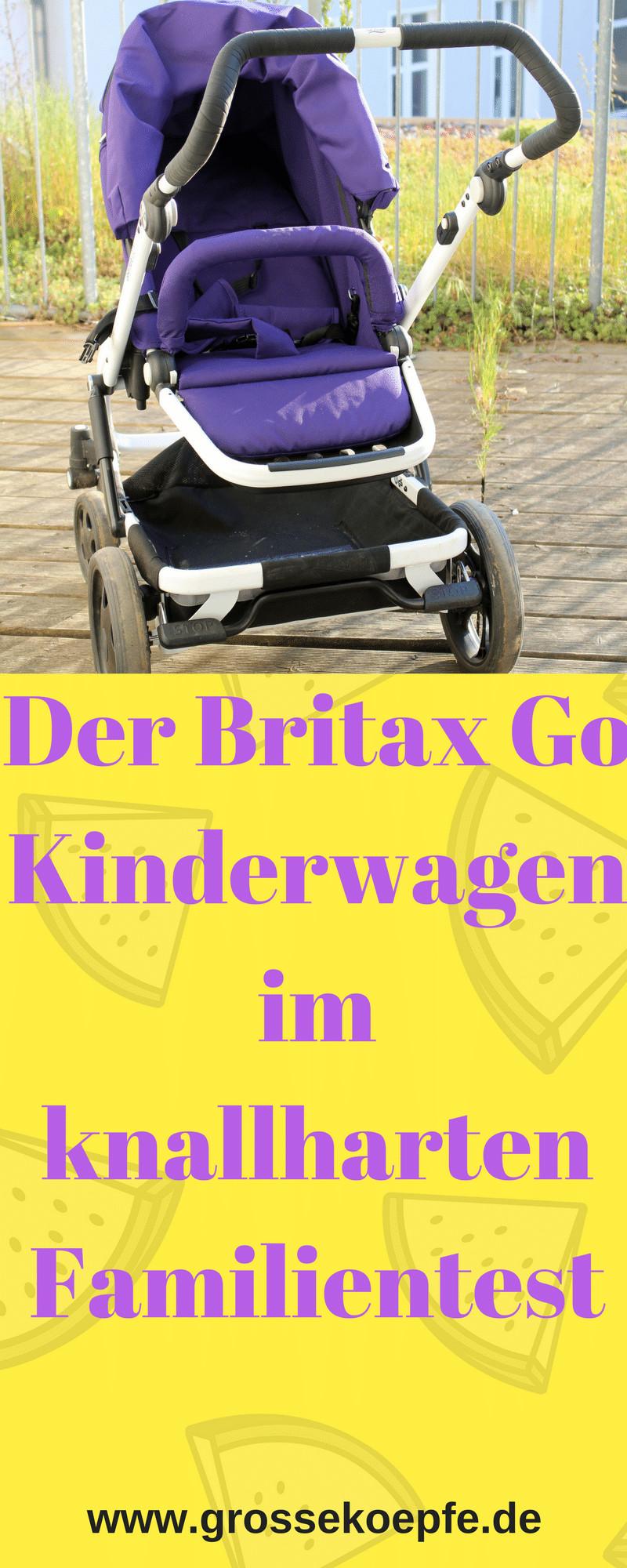 Der Britax Go Kinderwagen im Test
