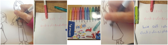 Familienblog, Meine Story, Deine Story, Frixion Colors Farben