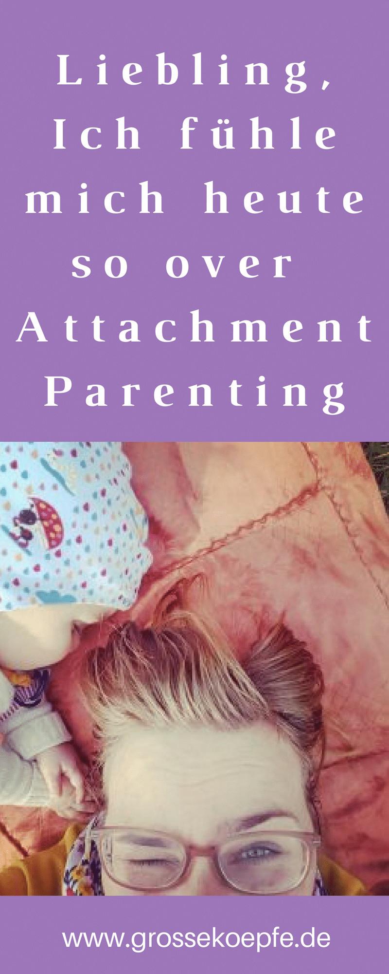 Over Attachment Parenting