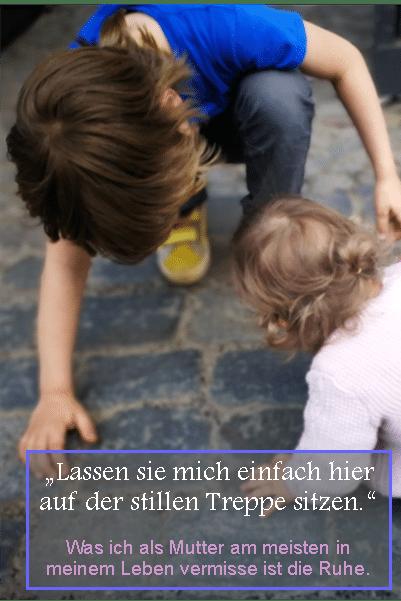 stille Treppe als Eltern _ Familie