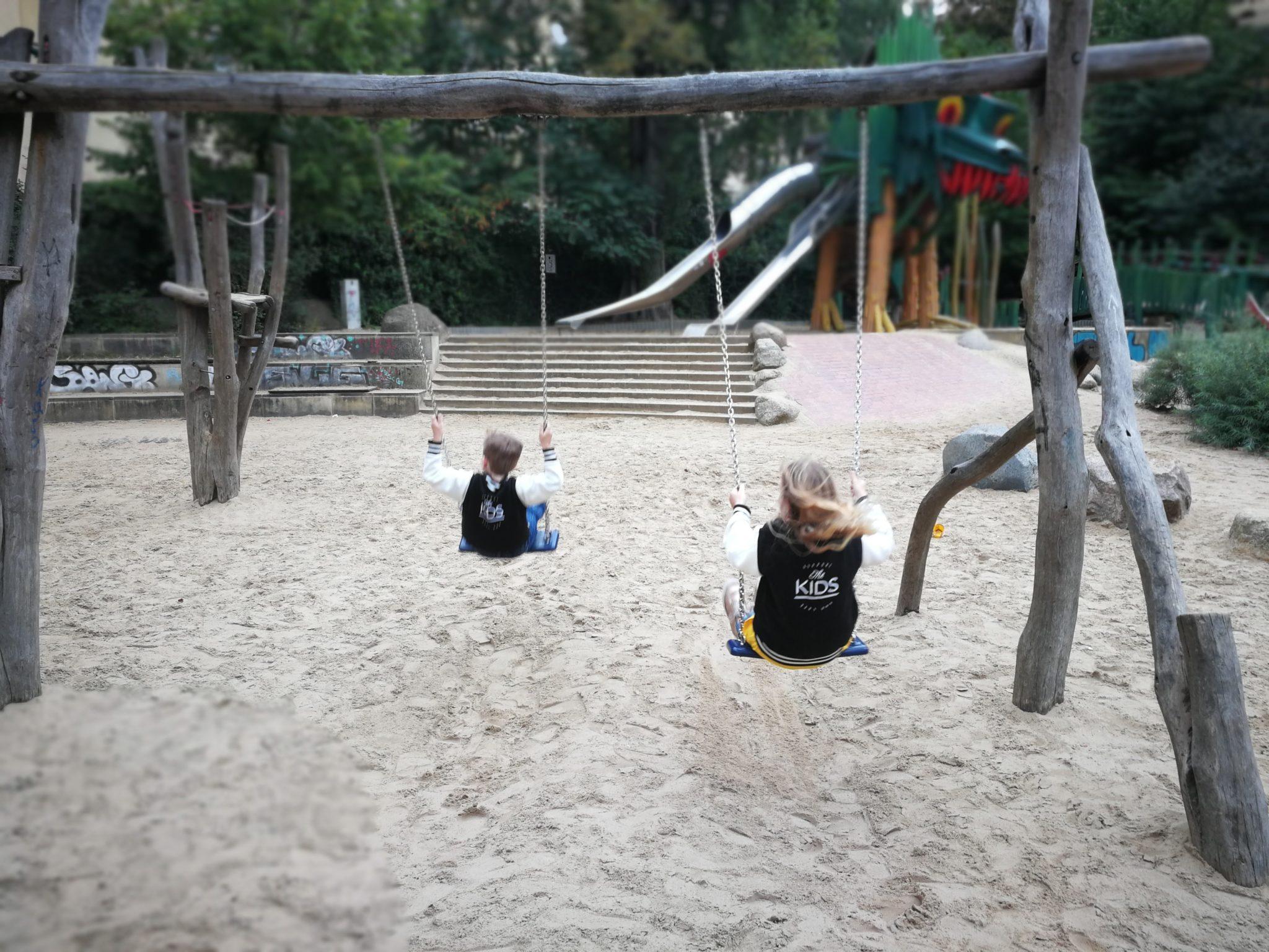 schaukeln Drachenspielplatz