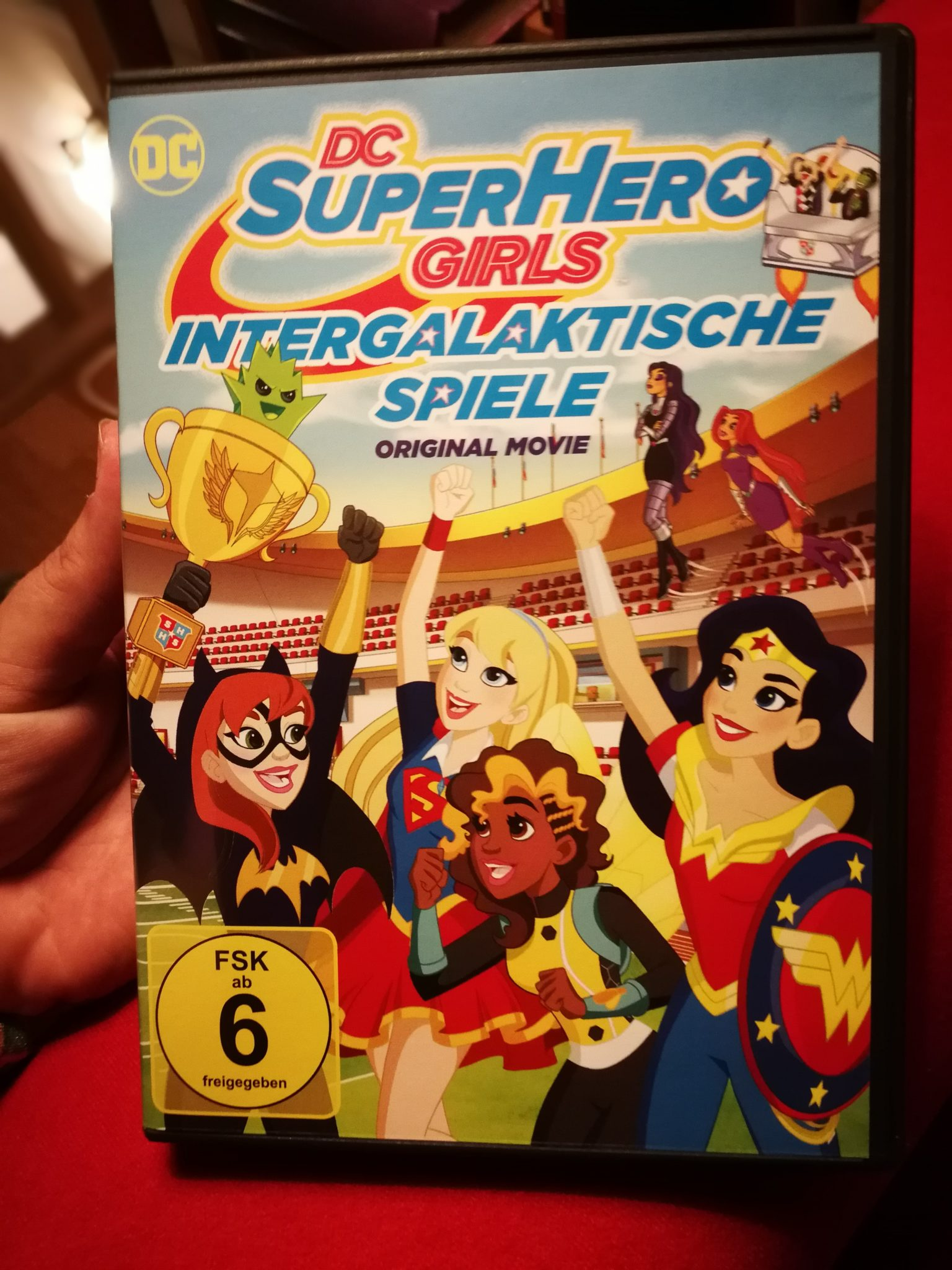 DC Super Hero Girl DVD