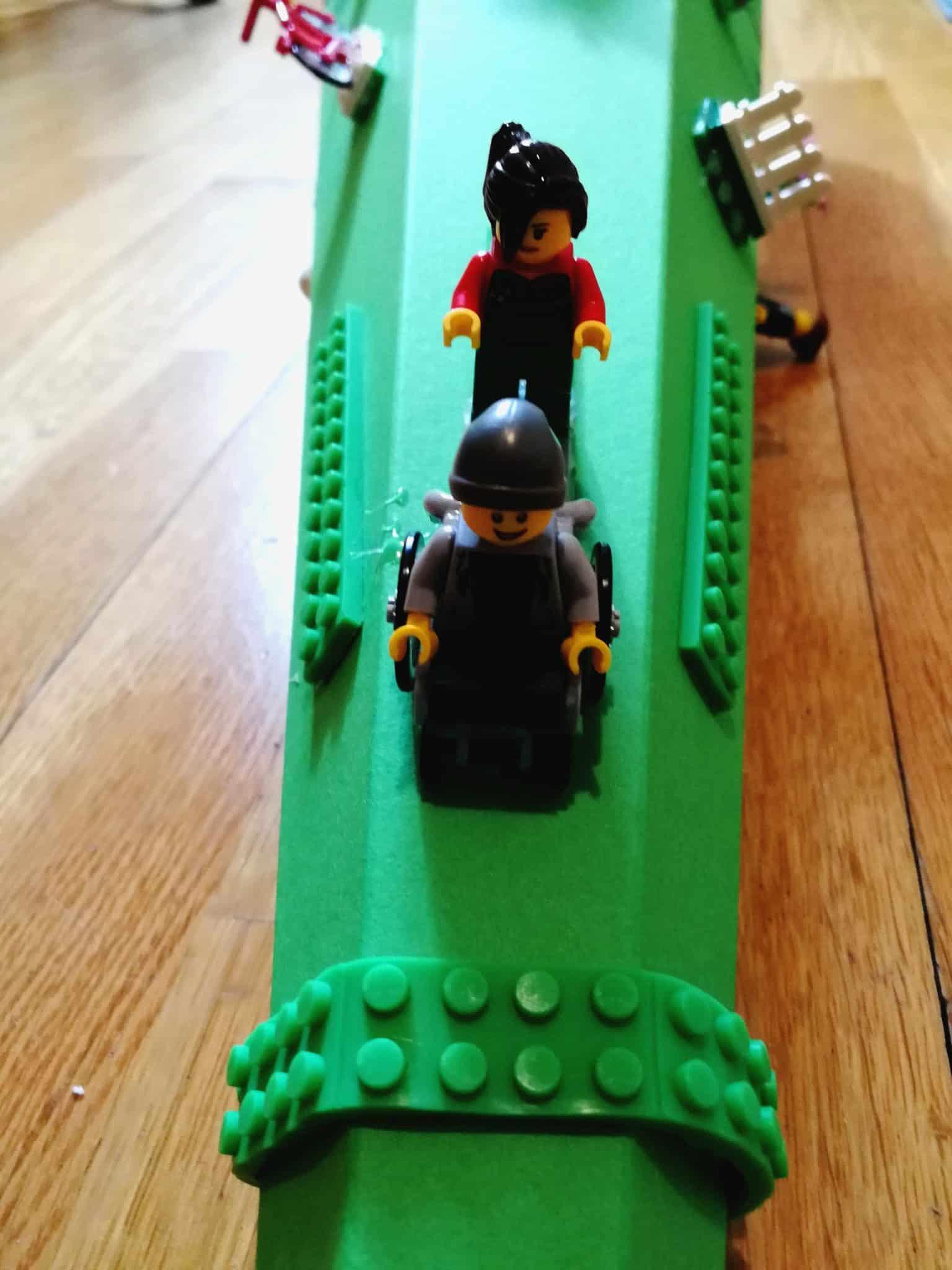 Rollstuhlfahrer Lego