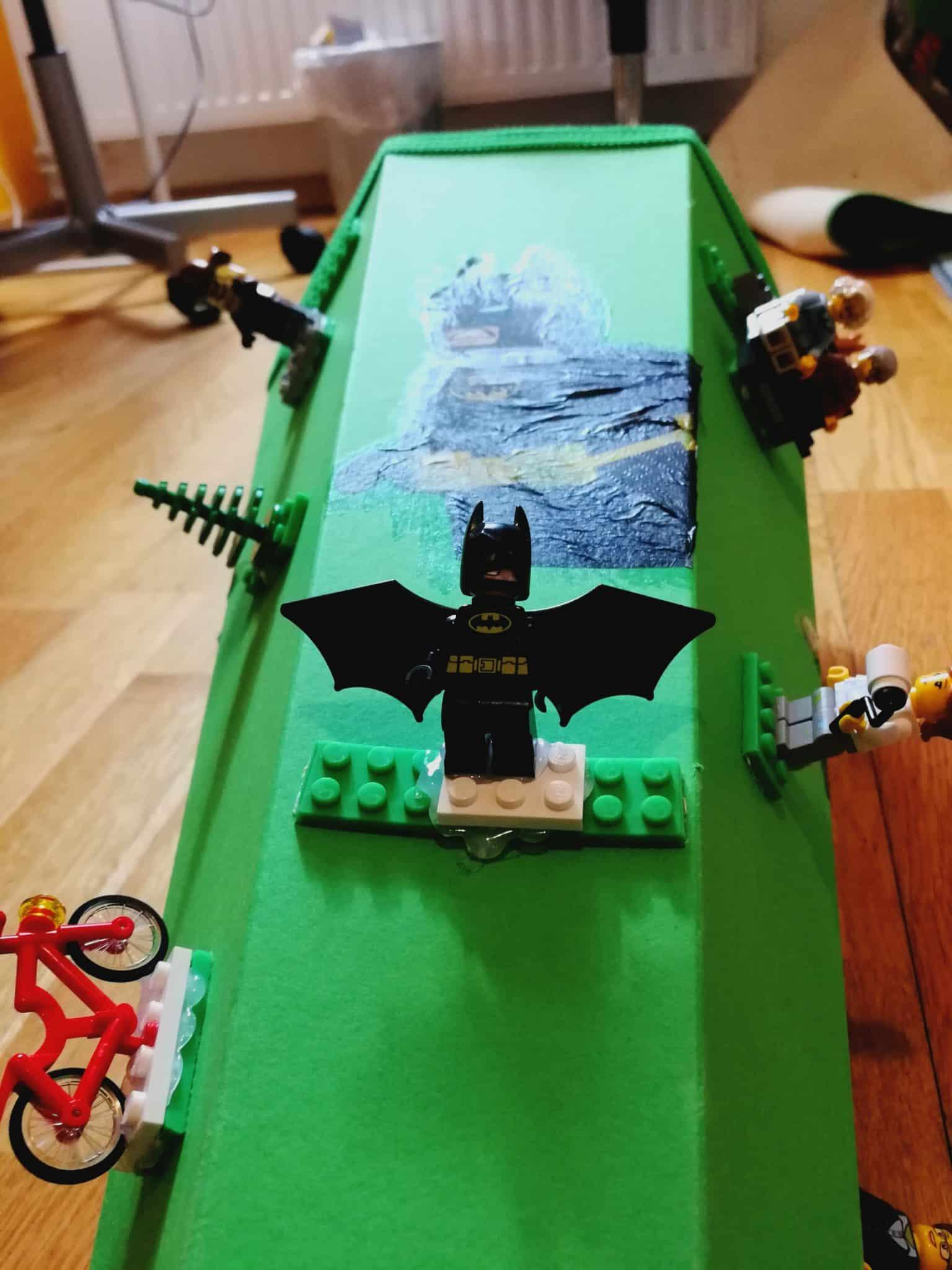 Batman Lego Tüte DIY