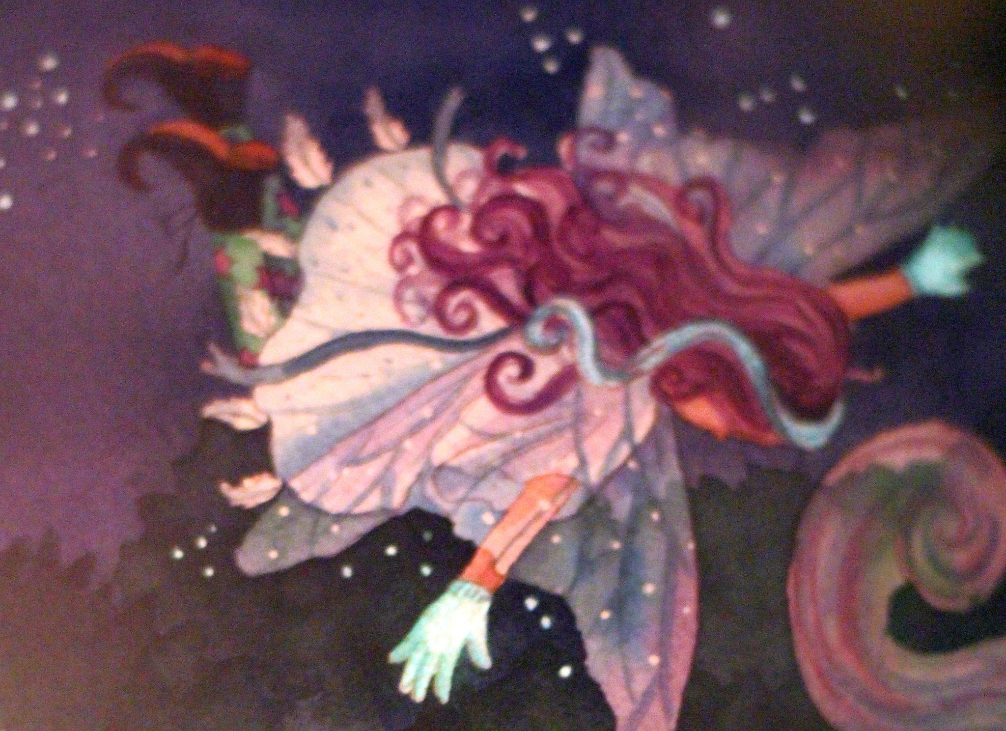Maluna Mondschein leuchtet Fee