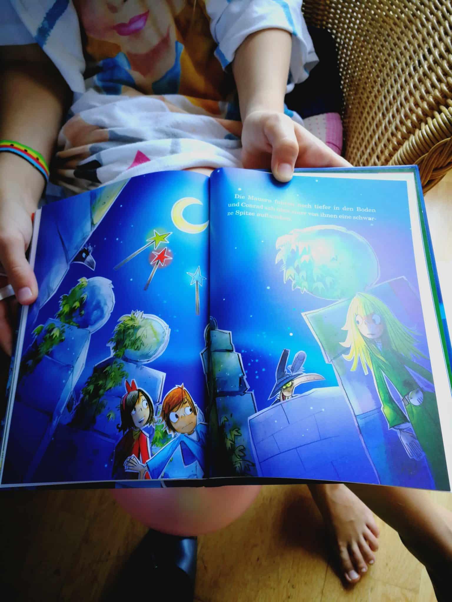 Die drei Magier Buch innendrin