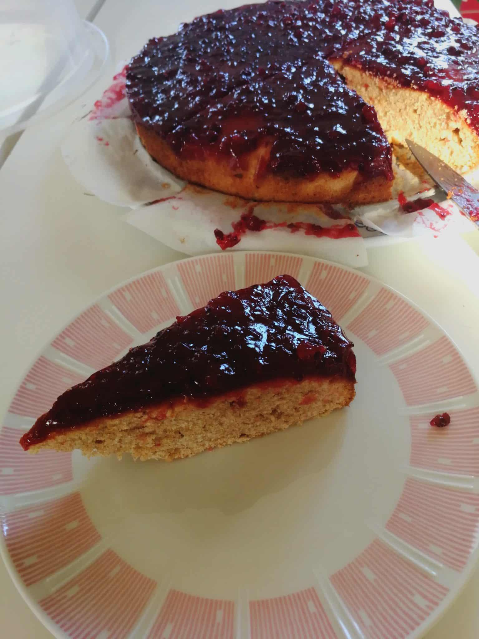 Kuchen backen mit Johannisbeeren