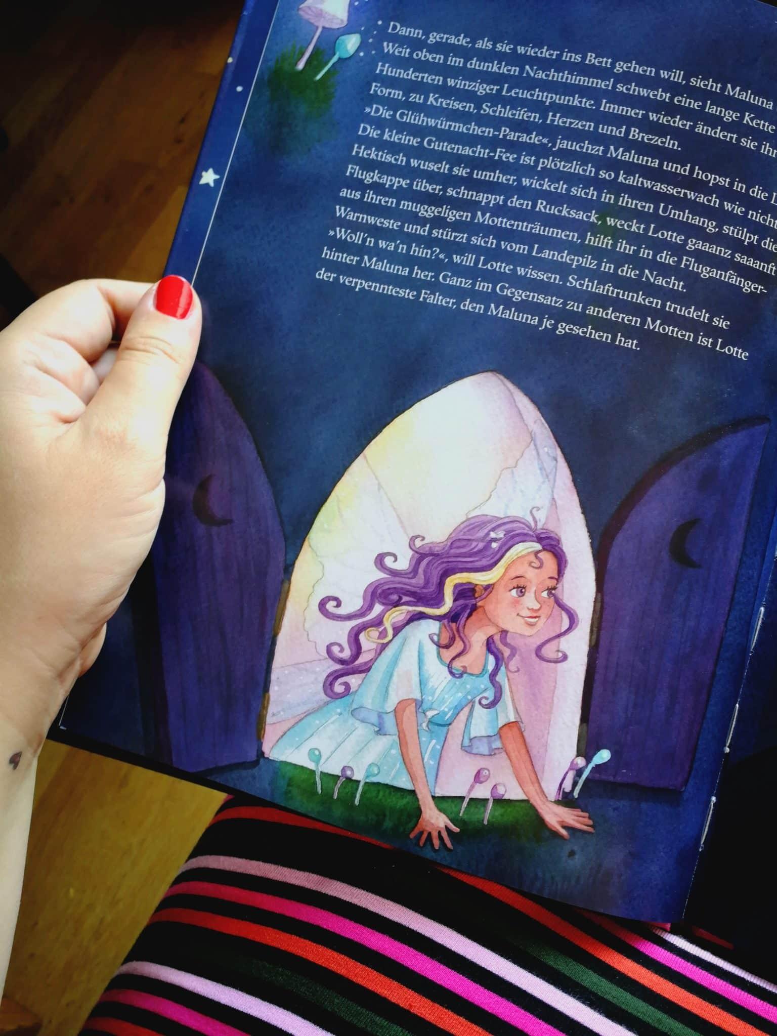 Maluna Mondschein Buch Lichterfee