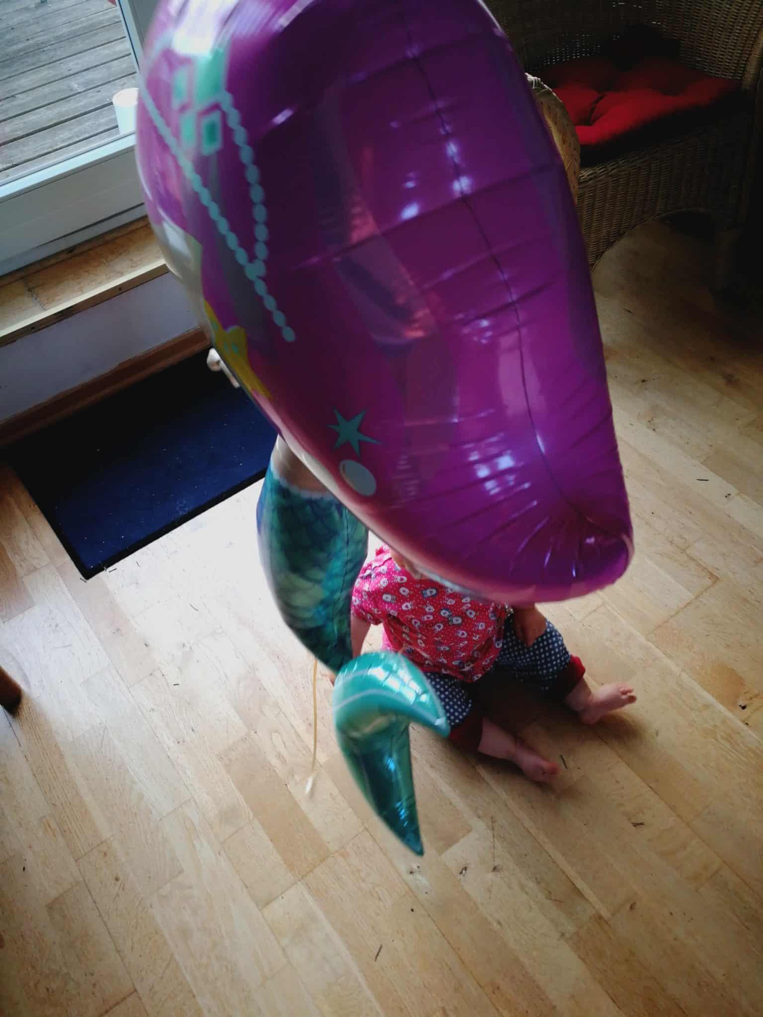 Meerjungfrauen Ballon