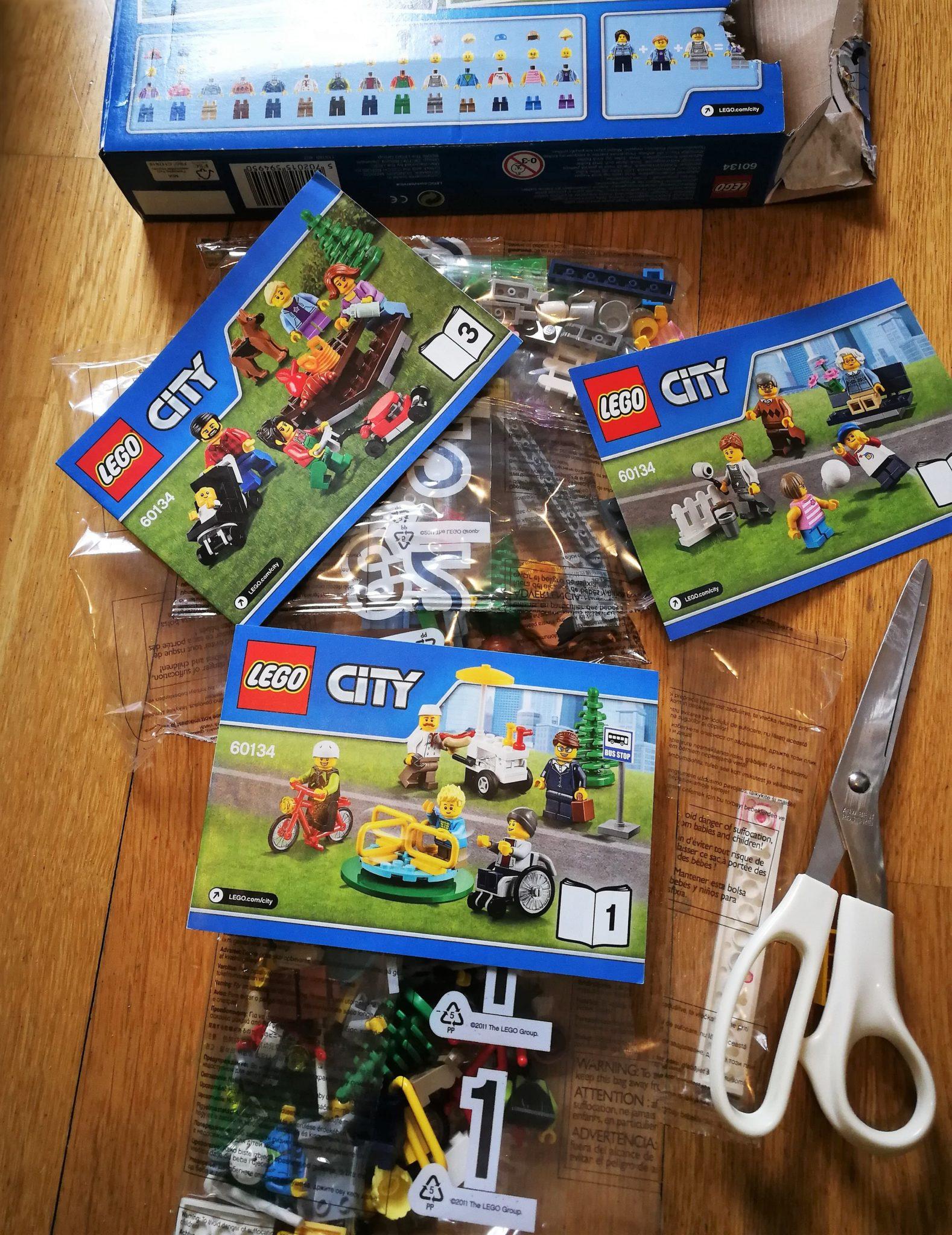 DIY Lego Schultüte