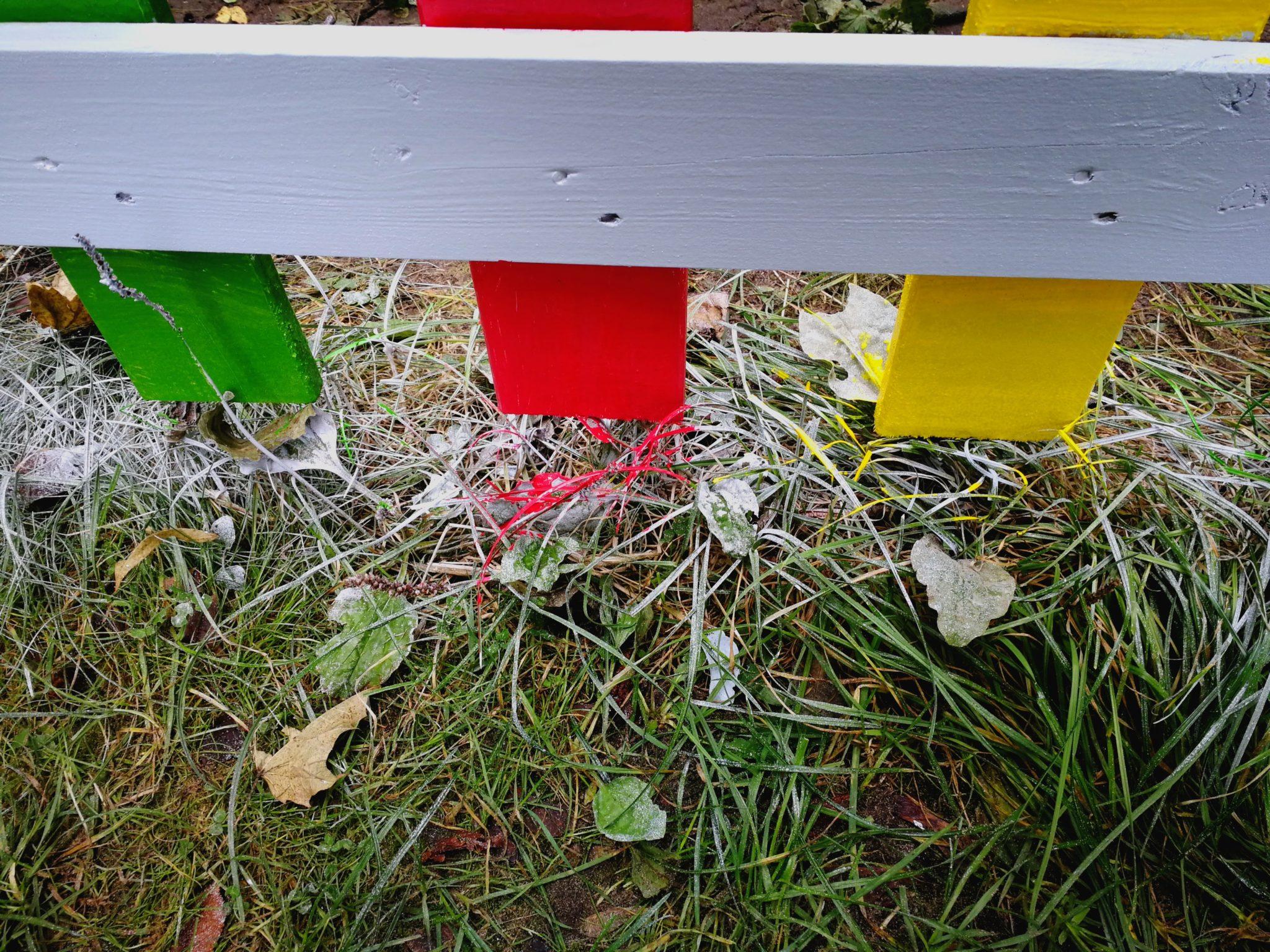 Zaun Farben