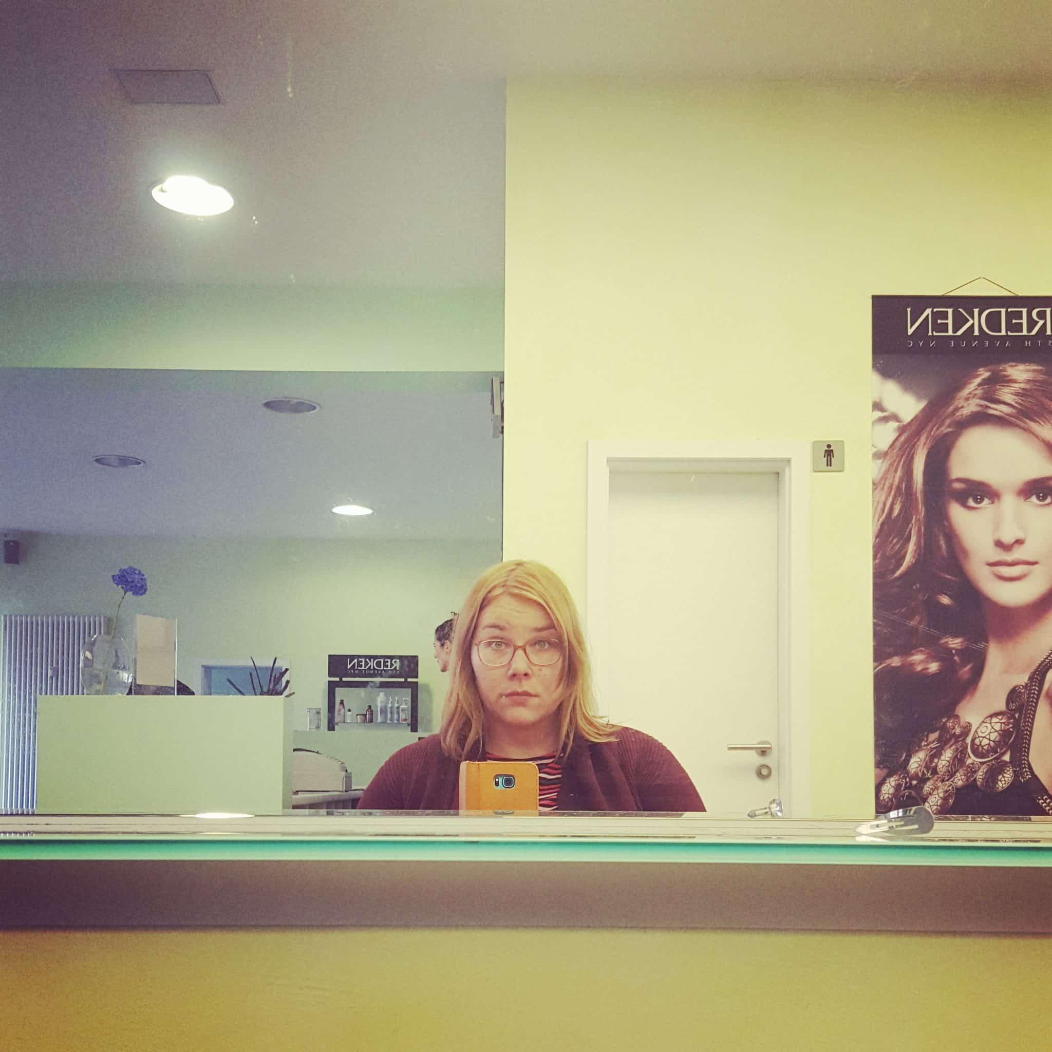 Friseur Haarstation