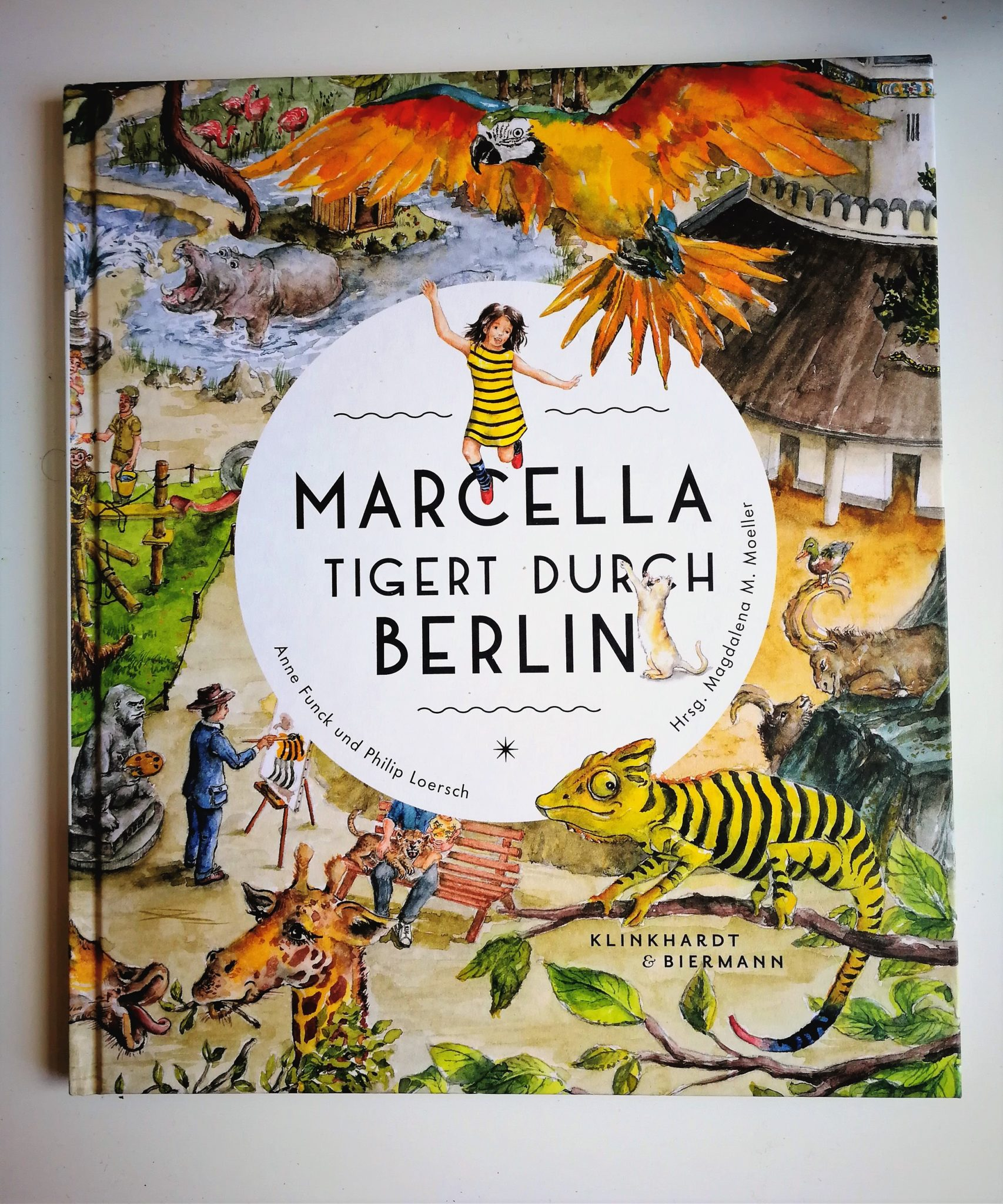 Marcella tigert durch Berlin