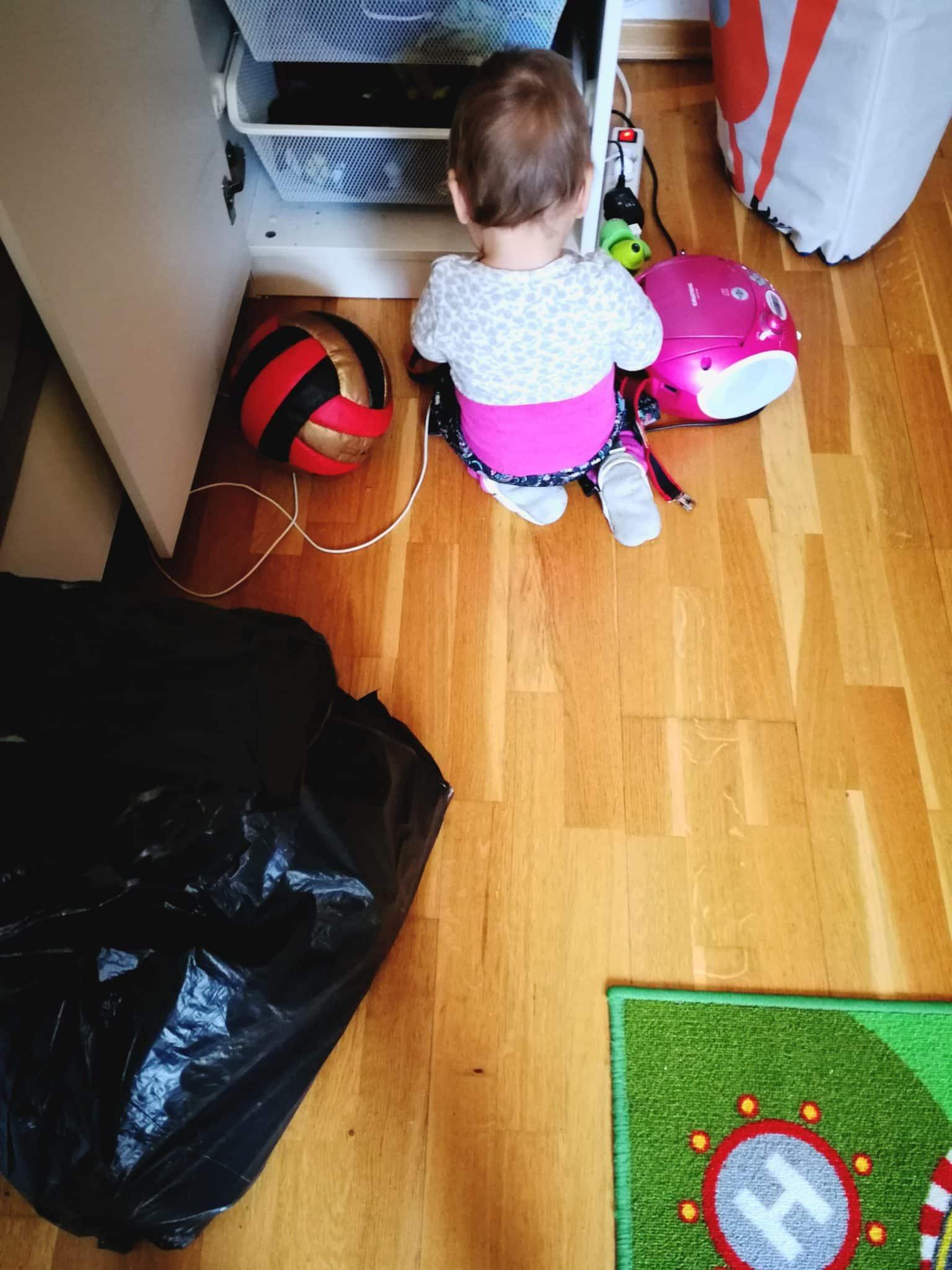 Schrank ausräumen