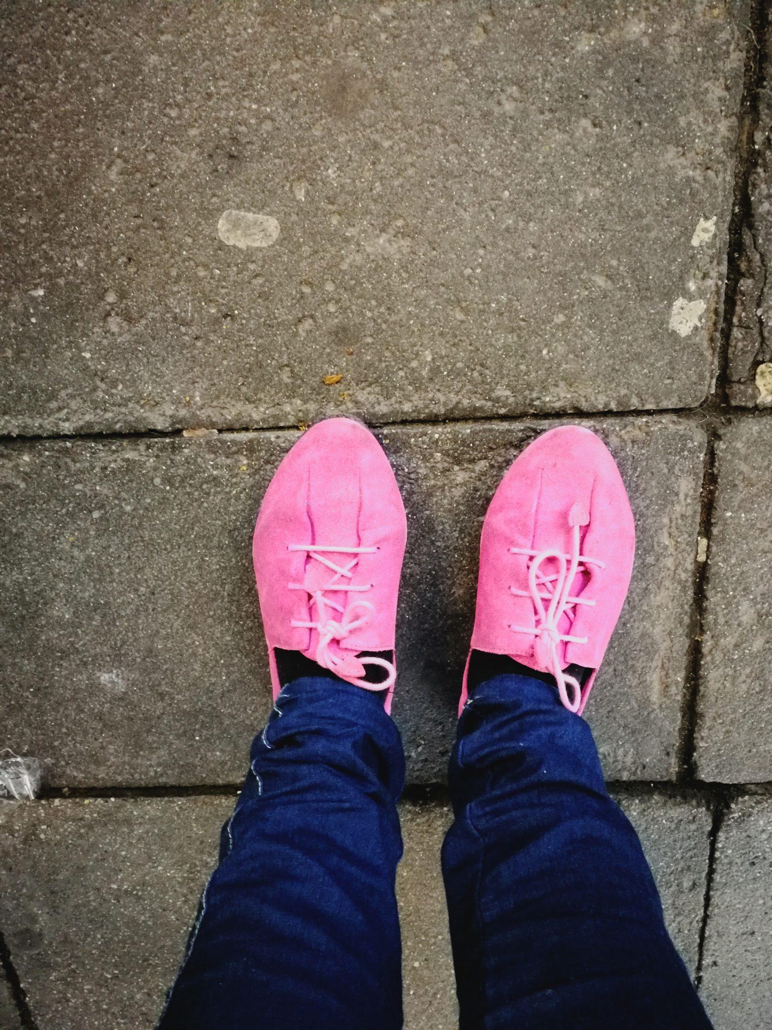 rosa Camper Schuhe