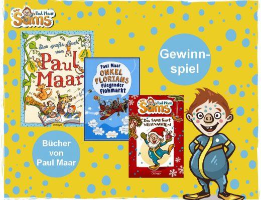 Zum Geburtstag von Paul Maar - Kinderbuch-Gewinnspiel