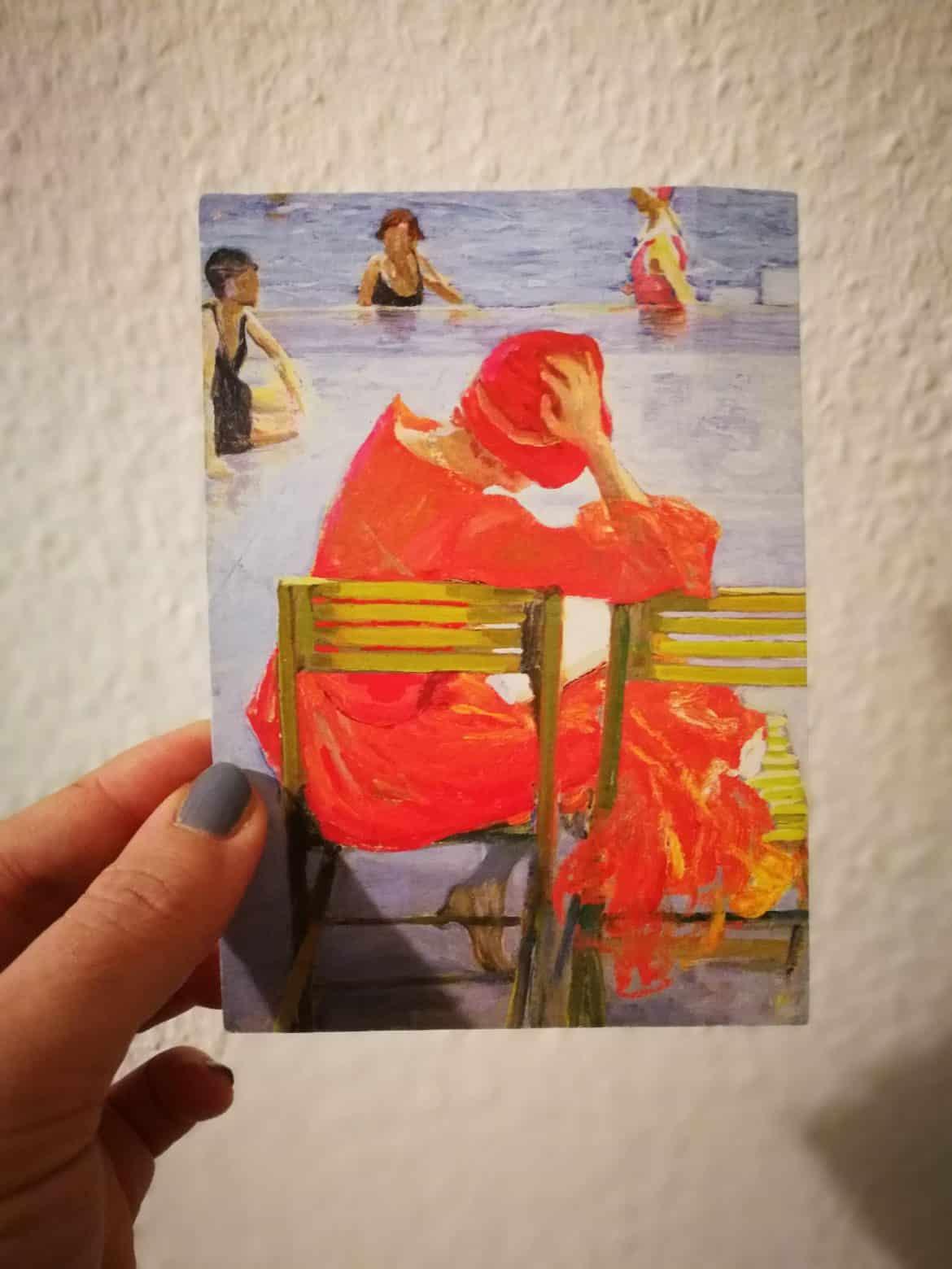 Postkarten schreiben während Corona