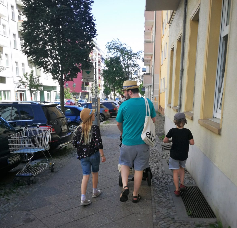 Alltag einer Berliner Familie