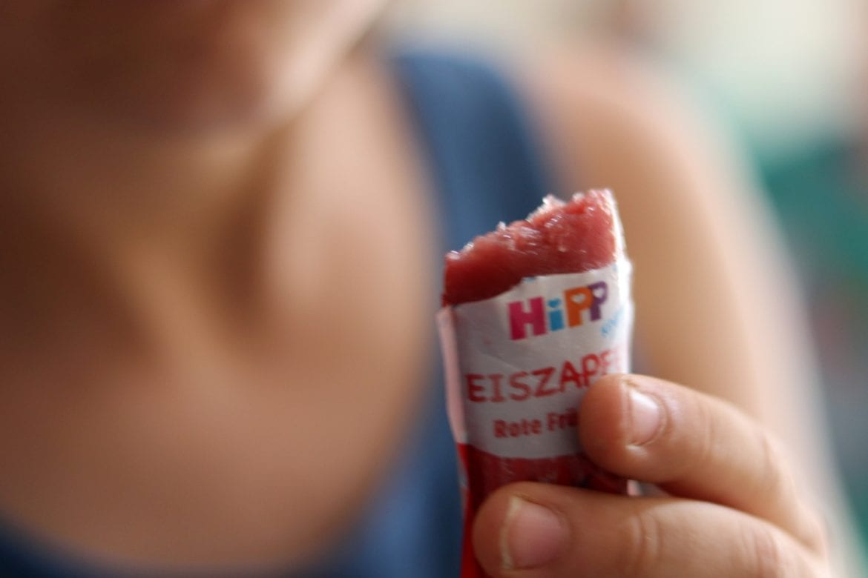 die HIPP Produkte Eiszapfen