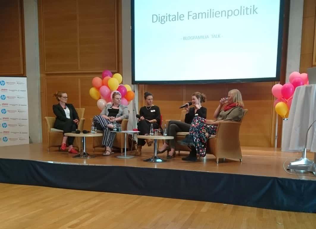 blogfamilia, Talk, Podium