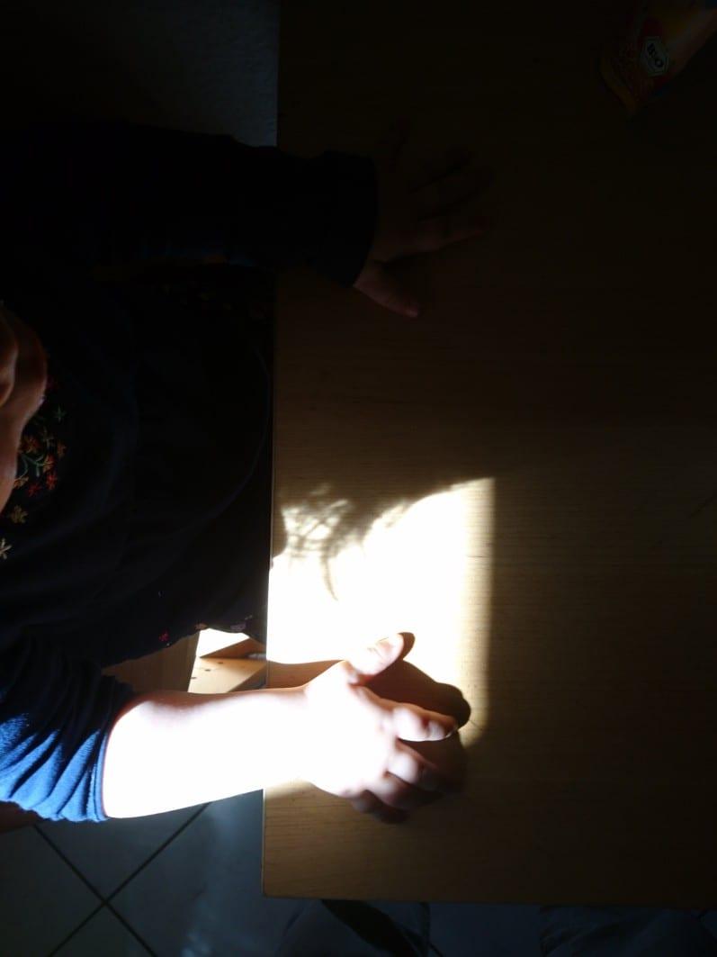 Licht und Schatten, Küche