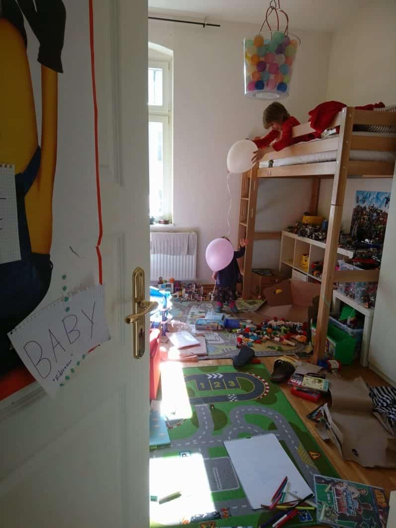 blogfamilia, Ballons, Kinder