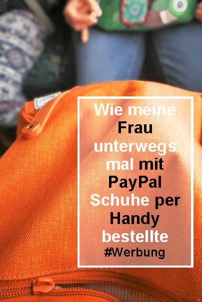 unterwegs bezahlen mit PayPal