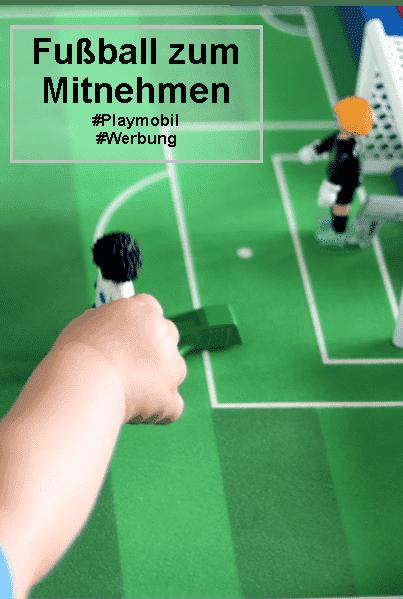 Fussball zum Mitnehmen #playmobil