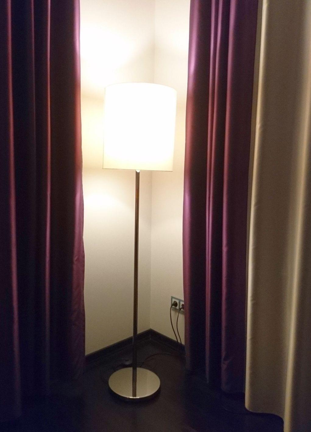 Ecke des Hotelzimmers