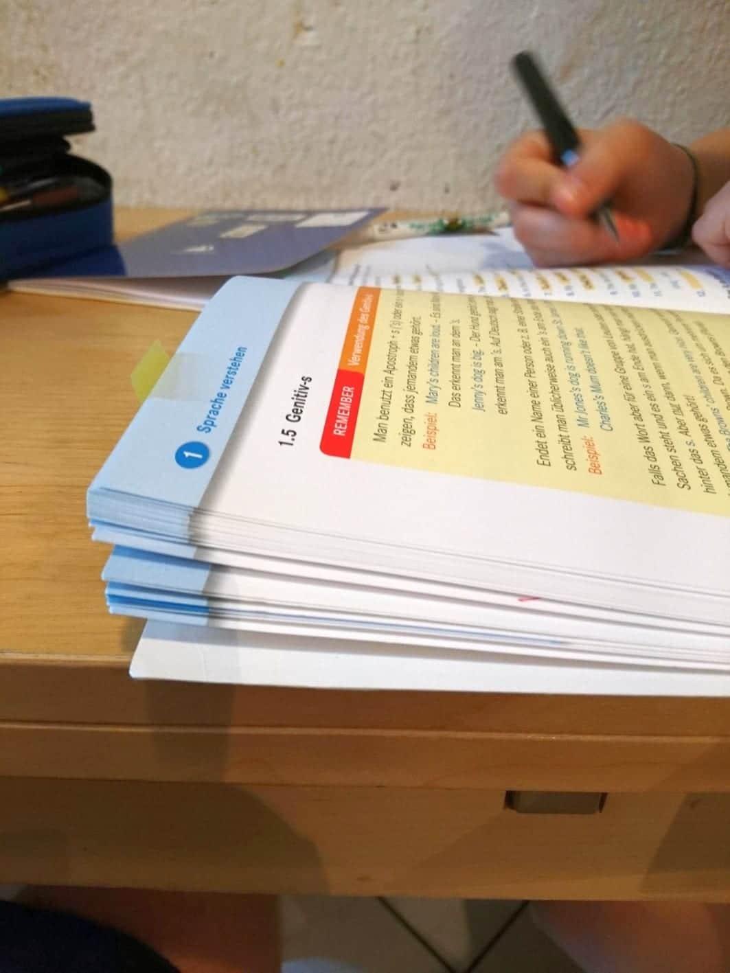 Schulaufgaben