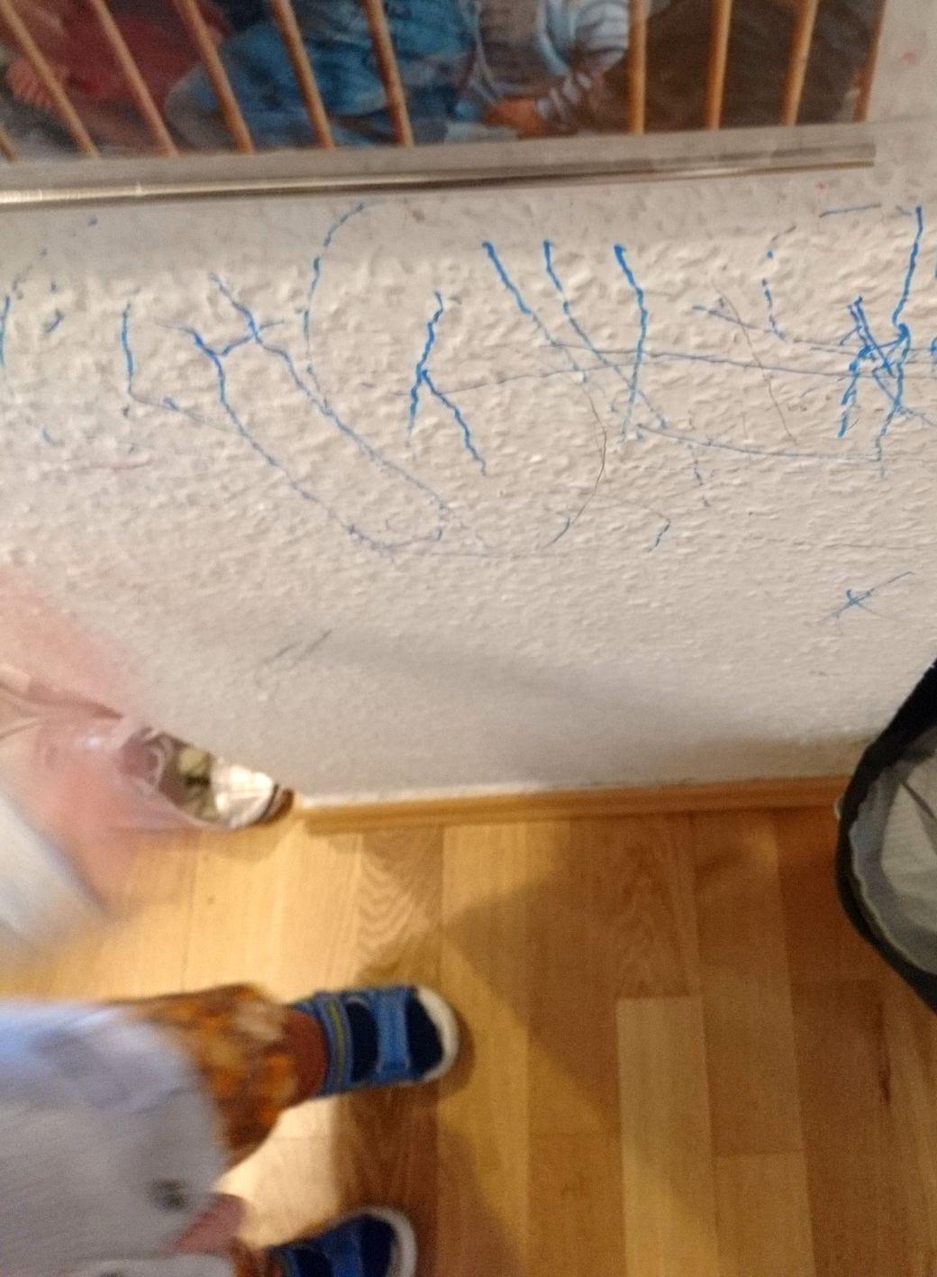 Wandmalerei, Kindermalspaß
