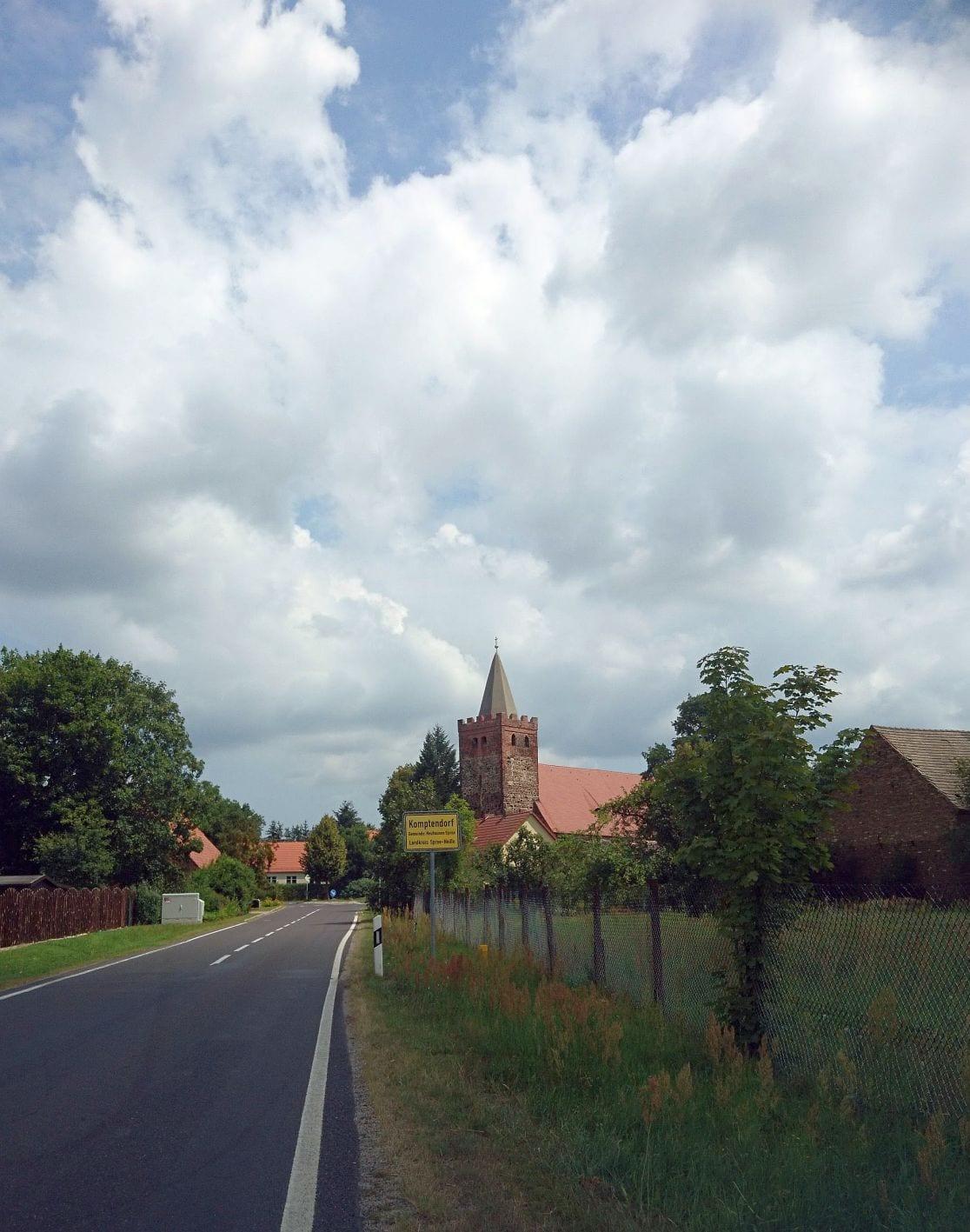 Kirchenturm, Komptendorf