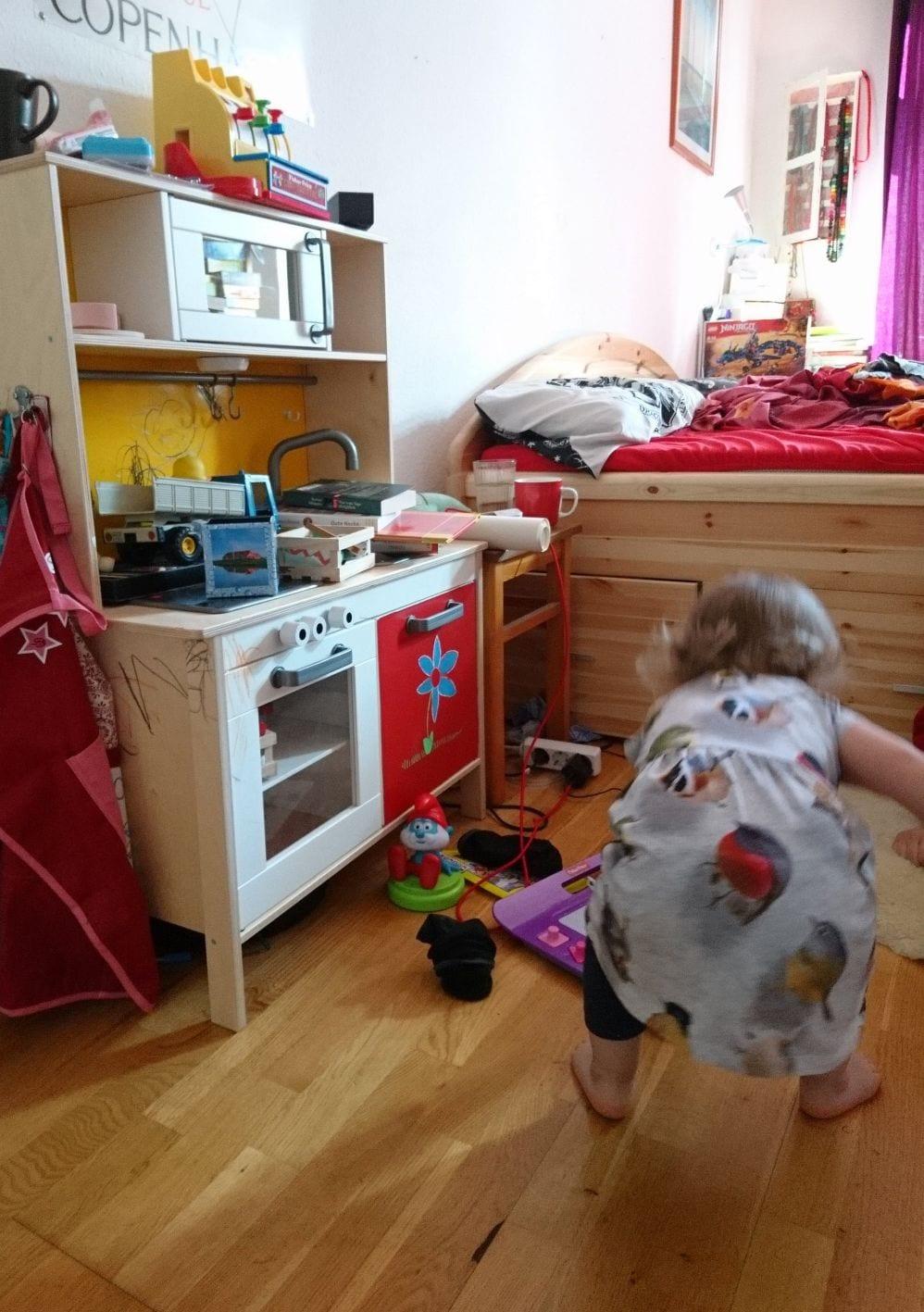 Kinderspiel, Spielküche, Kleinkind