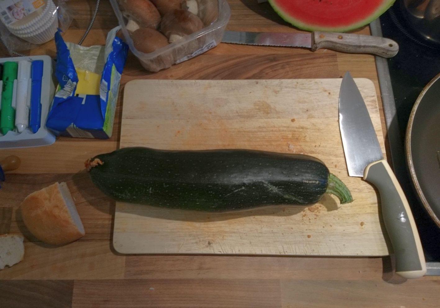 Zucchini, Sommer, Terrassenernte