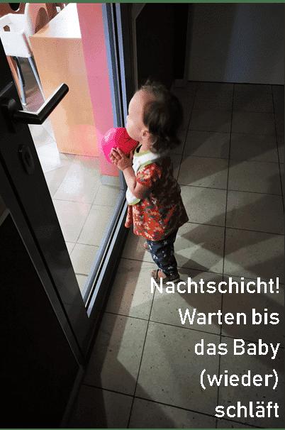 wenn das Baby immer wach ist