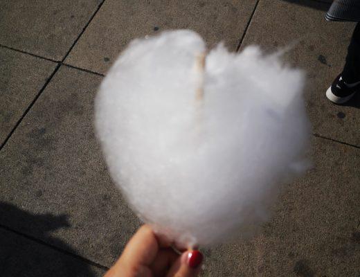 Ein Zuckerwattenherz