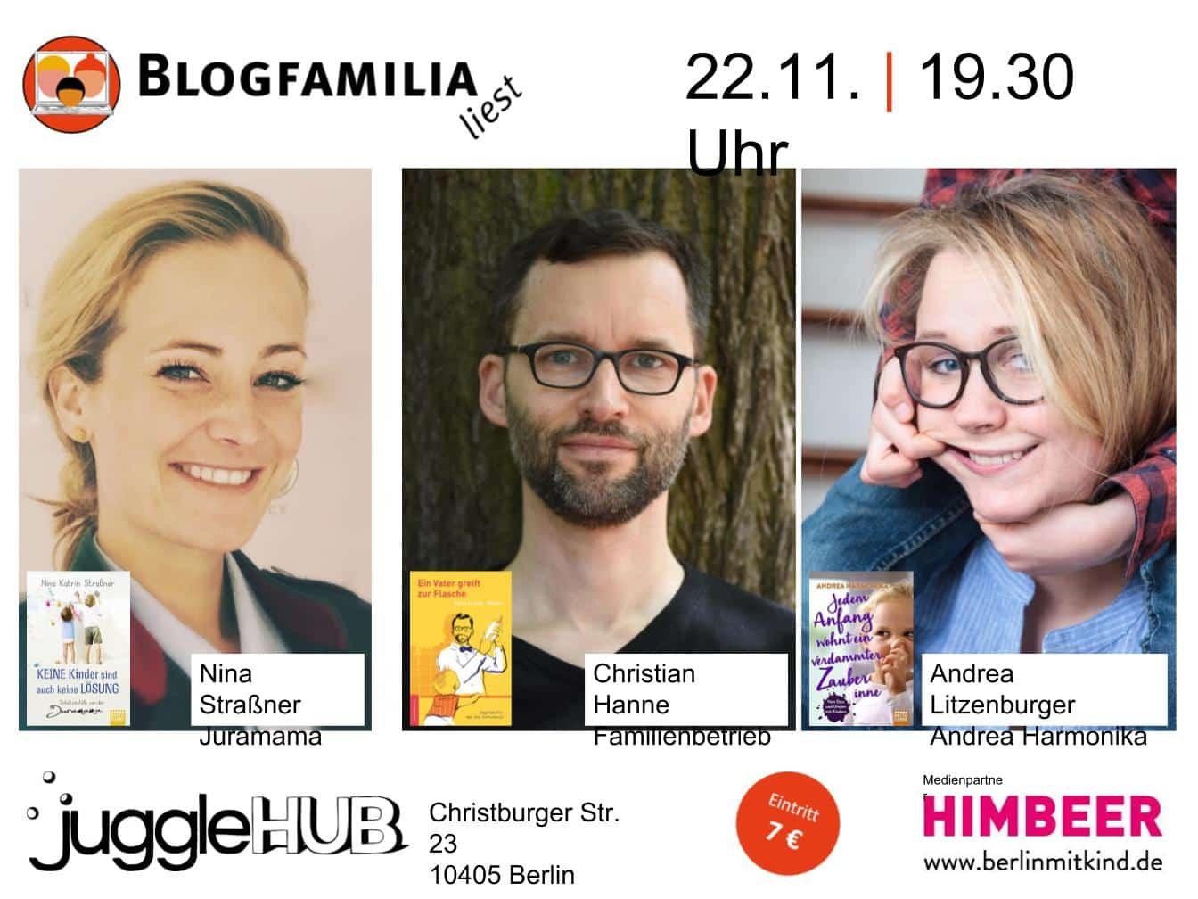 Blogfamilia liest Berlin