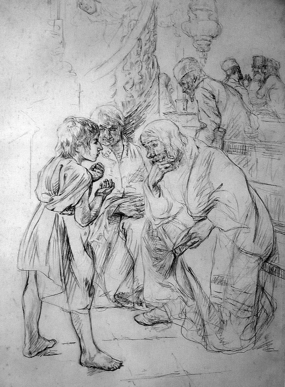 Liebermann_Skizze_Jesus