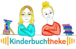 Logo für den Podcast Kinderbuchtheke