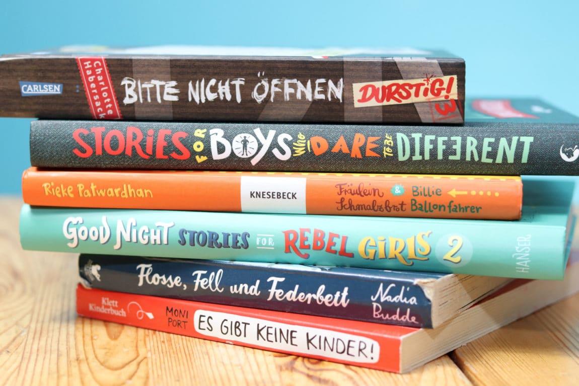 Buchstapel_GuteNachtGeschichten_Kinderbuch
