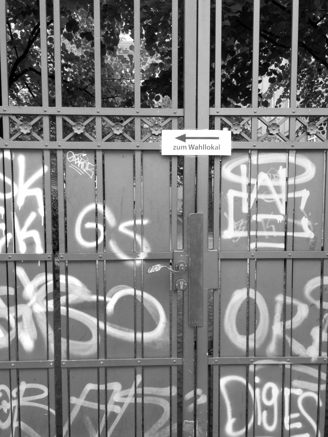 Das Wahllokal in unserer Schule_Friedrichshain