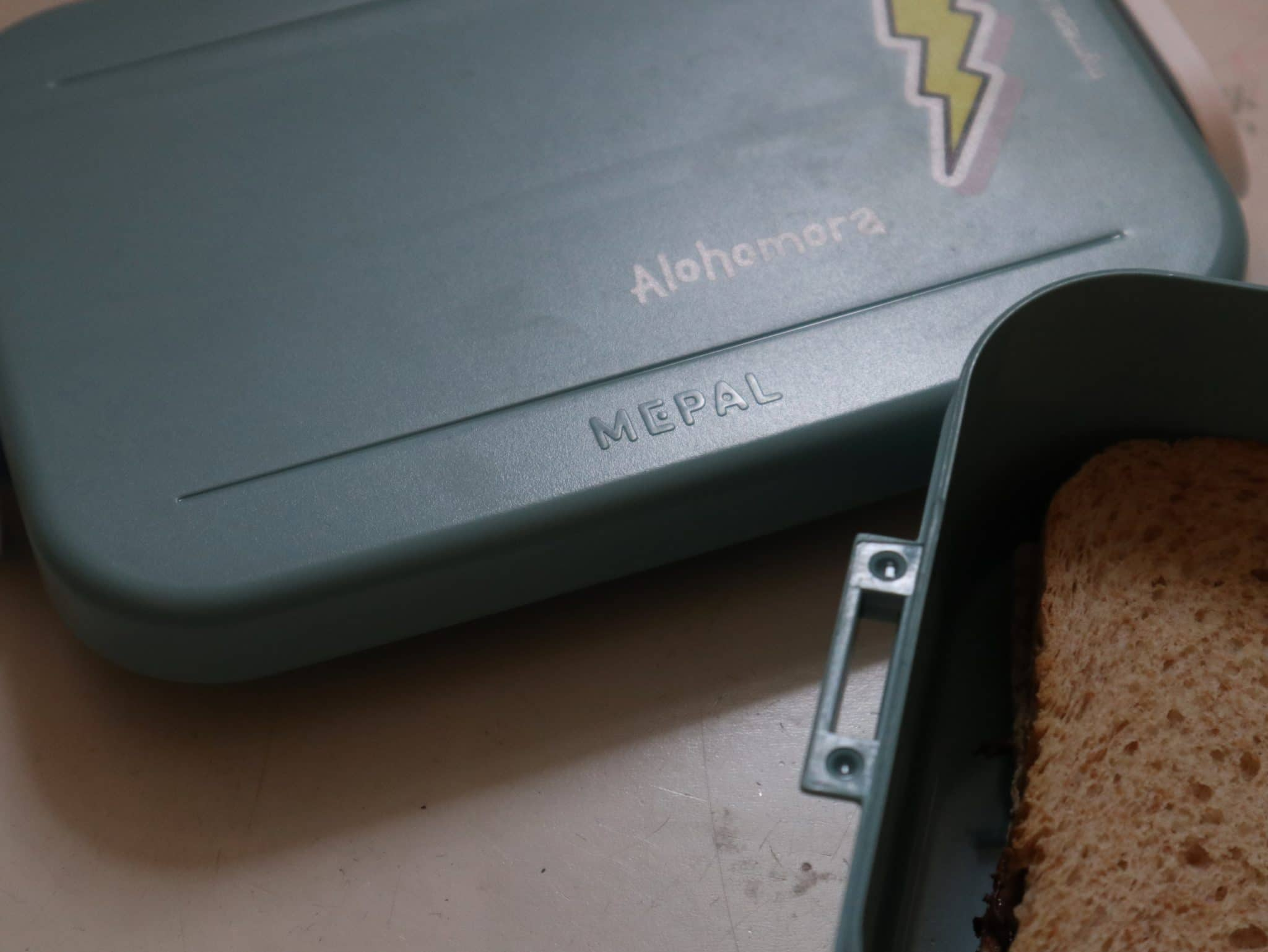 tuerkise Brotbox von MyMepal