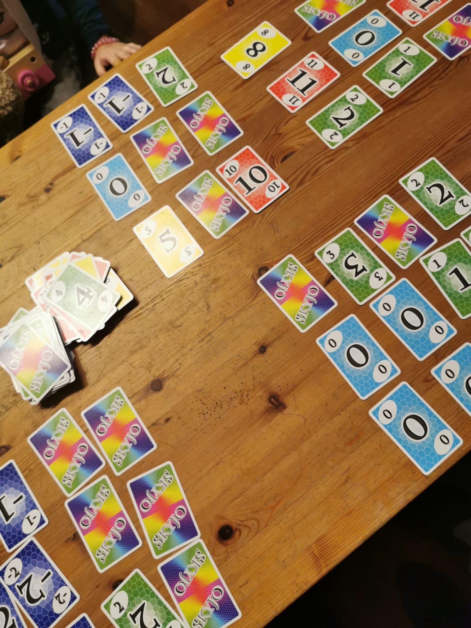 Kartenspiele mit den Kindern, immer wieder eine gute Beschäftigung