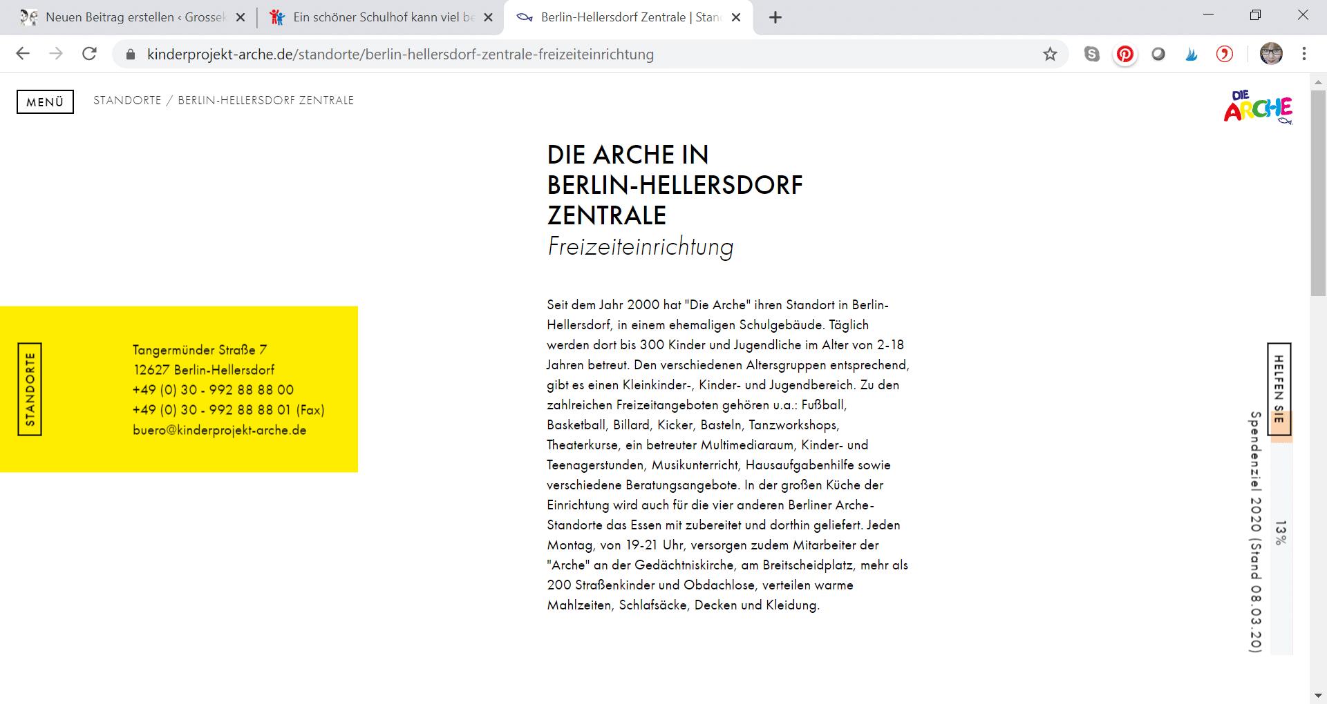 Die Arche_ Zentrale Berlin