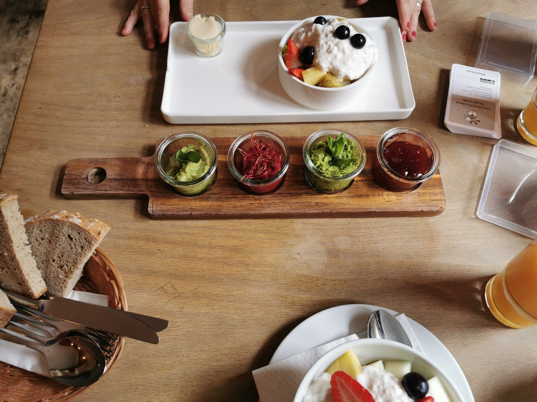 veganes Frühstück im Cafe Butter