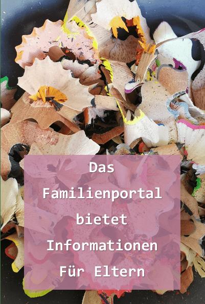 das Familienportal bietet Infos fuer Familien