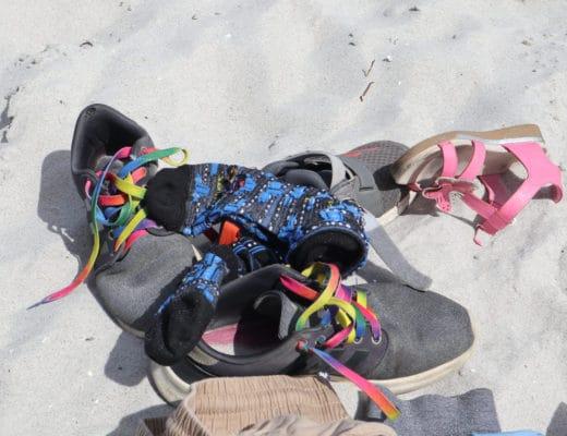 Ein Strandtag mit Kindern