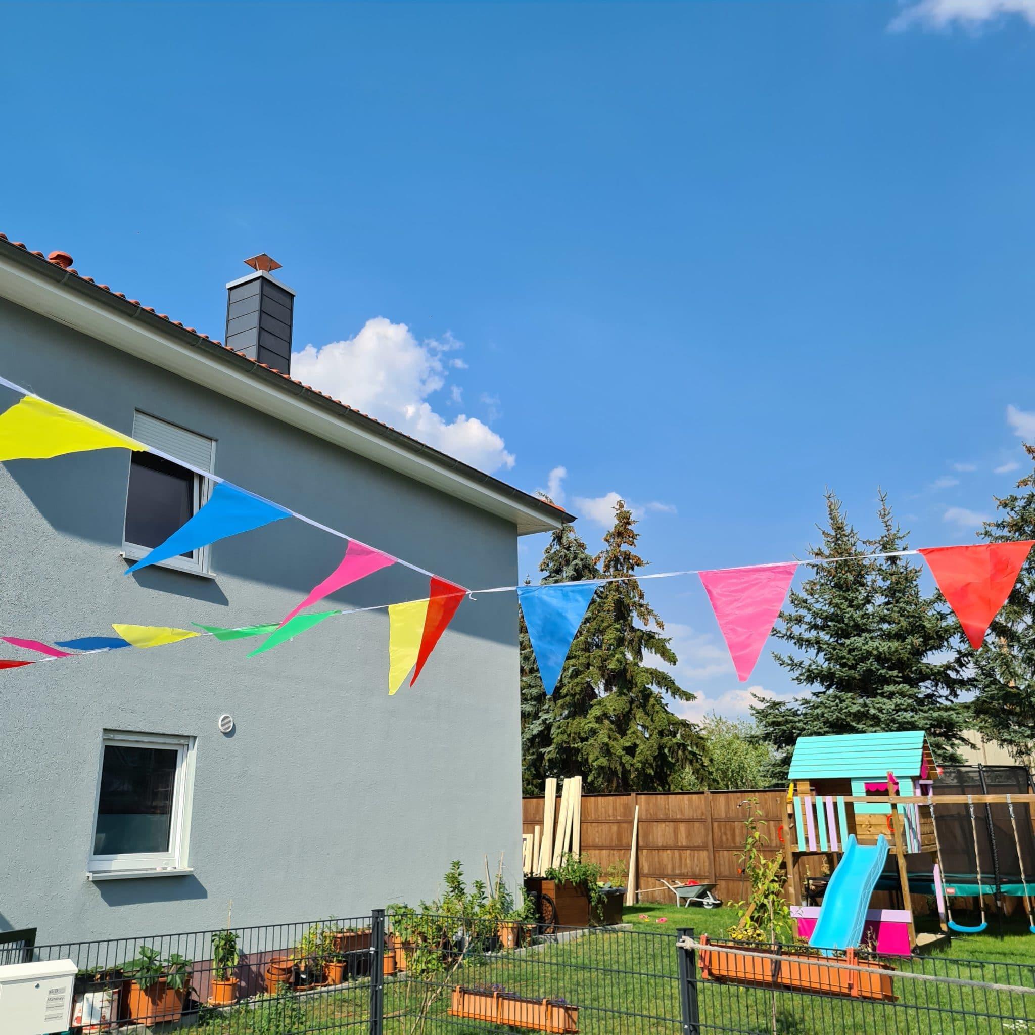 #9 Wir feiern unser erstes Nachbarschaftsfest draußen und das ist echt ne coole Sache